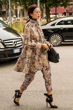 Street Style From Milan Fashion Week