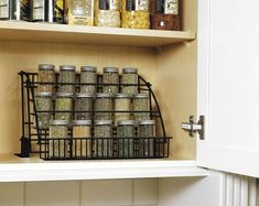 This clever spice rack organization makes your kitchen more functional,and beautiful too 27
