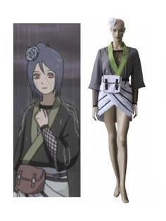 Naruto Konan High Quality Cosplay Outfits Costumes