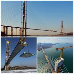 Puente de la Isla de Russki, Rusia / Bridge in Russki Island, Russia