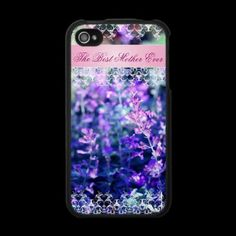 Beutiful lavender Mother's Day gift Iphone 4 Case