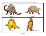 Dinosaurs activities for preschool, pre-K and Kindergarten