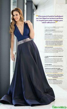 Luz Elena Gonzalez Para La Revista Nueva x7 | FamosasMex