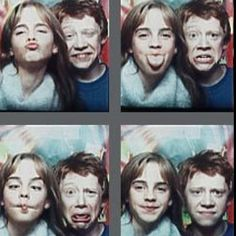 Emma Watson and Rupert Grint - too much