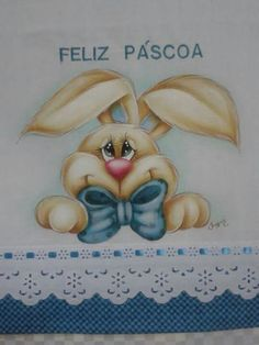 Coelho Baby Girl Quilts, Girls Quilts, Tole Painting, Fabric Painting, Here Comes Peter Cottontail, Bear Cookies, Spring Painting, Easter Projects, Wood Canvas