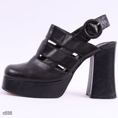 90s Platform Shoes / Dramatic 90s Heels / Party / by BetaBoutique, $36.00