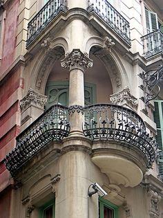 Anna 020 b - Architecture - Architecture Art Nouveau, Art Et Architecture, Architecture Portfolio, Historical Architecture, Sustainable Architecture, Beautiful Architecture, Beautiful Buildings, Architecture Details, Beautiful Places