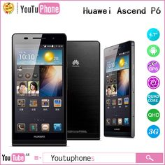 Find More Mobile Phones Information about In Stock Huawei Ascend P6 Quad Core Android 4.2 Os 2g+8g Rom Android Phone 4.7'' Hd Screen Multi Language Russian Spanish ,High Quality android phone dual core,China android phone web cam Suppliers, Cheap android phone iphone from Youtuphones Team on Aliexpress.com