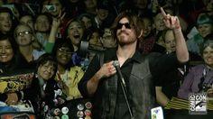 Video Extra - The Walking Dead - Morgan and Rick's Man-Love: Comic-Con Panel Highlights: The Walking Dead: Season 6 - AMC