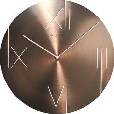 NeXtime Galileo Copper Wall Clock