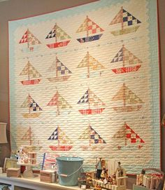 Perfect quilting for this quilt.