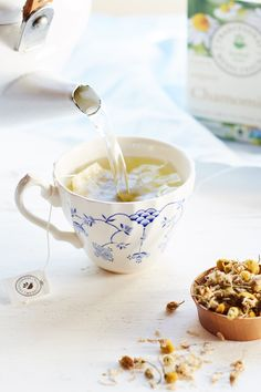 Fact: Chamomile is known as a nighttime tea that can help battle insomnia.