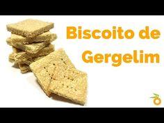 Biscoito de gergelim ou Bolacha salgada Saudável :) Dê saúde para sua família | Carol Pimentel - YouTube