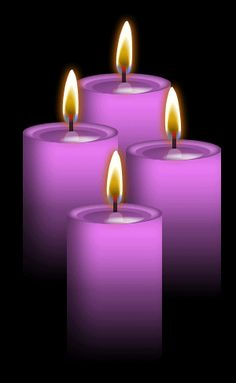 Purple:Use with white candle to neutralize effects of karma and ego. Ancient wisdom, the third eye, psychic powers, meditation, spirituality. Gold Candles, White Candles, Purple Candles, Lavender Candles, Unique Candles, Rose Candle, Candle Magic, Wiccan, Magick