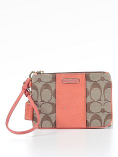 Check it out - Coach Wristlet for $20.99 on thredUP!