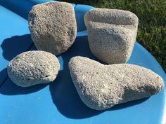 Natural Pumice Stones (4pcs) from Greek beaches, genuine Pumice Stones, Volcanic stone, Light-weight beach stones Pumice Stone, Beach Stones, Beach Crafts, Beaches, Craft Supplies, Greek, Natural, Etsy, Image