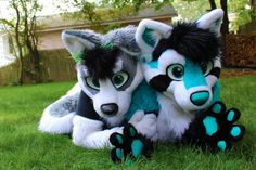 Nick and me in fursuits :3 by ChocolateTang