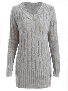 RoseGal.com - RoseGal Longline Sweater - AdoreWe.com