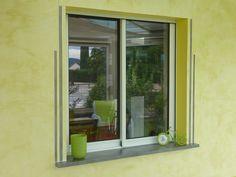 Une fenêtre joliment installée !