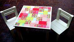 Mesas y Sillas   Mil colores   Feria Central