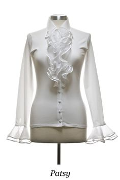 anne fontaine white blouses | Spotted: Syleena Johnson in Anne Fontaine - Talking With Tami