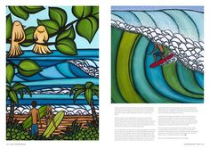 The Surf Art of Heather Brown: Cooper Design Surfboards