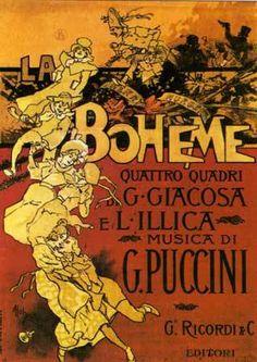 La Bohème - Póster original