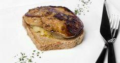 Receta de Pan de cerveza y mostaza con foie y manzana