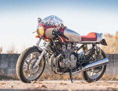 "Honda CB750 Cafe Racer ""S.S.S.971"" - Mastercycles Custom Bike #motorcycles #caferacer #motos | caferacerpasion.com"