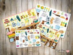 """Найди и покажи """"Кухня"""" - Занятия для раннего развития детей RightBrain.Training"""