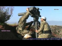 Jihadists in Syria using Anti Tank Guided Missiles