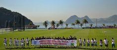 """Jogadores ingleses agradecem """"recepção calorosa"""" no Brasil - Futebol - R7 Copa do Mundo 2014"""