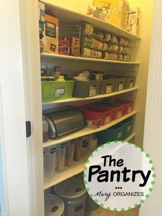 Does food fall on your head whenever you try and get something out of your pantry? Do you have 75 cans of expired soup because you can never find what you have? Today I'm showing you how I organized my pantry!