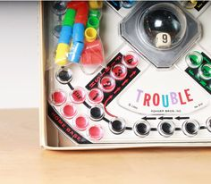 Trouble Board Game - Toy - 1965 - Family Game Night. $25.00, via Etsy.
