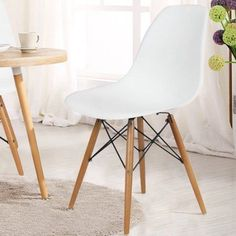 adeco trading dining side chair set of 2 black