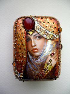 lacquer miniature, Svetlana Belovodova