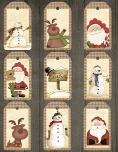 Your place to buy and sell all things handmade Christmas Gift Tags Printable, Holiday Gift Tags, Christmas Gift Box, Christmas Cards To Make, Christmas Printables, Holiday Crafts, Christmas Decorations, Christmas Ornaments, Christmas Wrapping