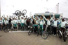 A group of cannabis enthusiasts from the Netherlands formed Tour de Achterdeur. Biking for better Cannabis Policy from Amsterdam to The Hague, and surrounding cities and towns.