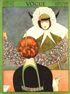 Vogue cover - October 15-1911
