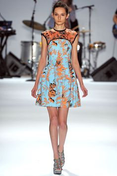 Nanette Lepore Spring 2013 Ready-to-Wear Collection Slideshow on Style.com