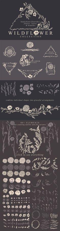 Ultimate Vector Design Bundle Design Cuts #floral