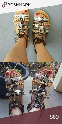 Spotted while shopping on Poshmark: HP  Greek Handmade sandals! #poshmark #fashion #shopping #style #Shoes