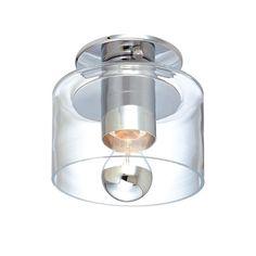 Sonneman Transparence Semi Wall Fixture / Semi Flush Mount | AllModern  $260