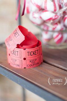 ticket#mariage#fête#foraine Parenthèse Poétique Crédit Photo: pdboudierphotographie