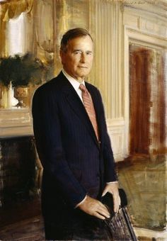 George H. W. Bush....41st President of The United States...served one term 1989 to 1993