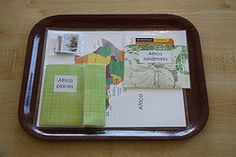 Continent Boxes - Places Tray