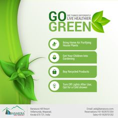 #Go #Green See Things Differently and #Stay #Healthier  http://www.banasura.com/