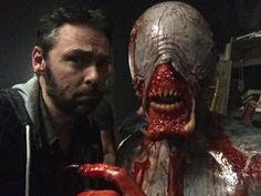 director Michael J Bassett and Eligos - Ash vs Evil Dead