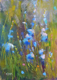 "Daily Paintworks - ""Inspiration for Artists"" - Original Fine Art for Sale - © Karen Margulis Art Painting Gallery, Artist Gallery, Fine Art Gallery, Veggie Art, Cityscape Art, Art Journal Techniques, Pastel Art, Pastel Flowers, Flower Art"