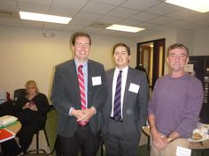 #Lawyer Evan Guthrie with Reed Evans of 14th Circuit Solicitors Office and Eric Johnsen of Johnsen Law Firm at Evan Guthrie Law Firm at the South Carolina Bar Middle School Mock Trial Competition Lowcountry Regional at North Charleston City Hall in North Charleston, SC on Saturday November 15, 2014